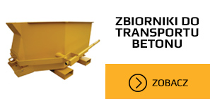 zbiornik do transportu betonu